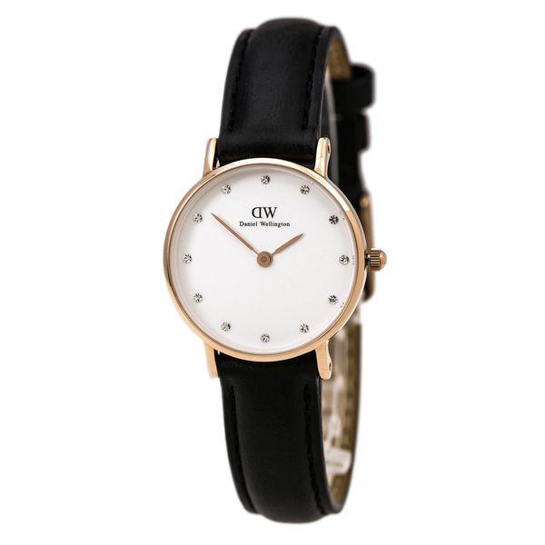 Daniel Wellington Women's Classy Sheffield 0901DW White Leather Quartz Watch