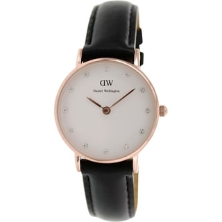 Daniel Wellington Women's Classy Sheffield 0901DW White Leather Quartz Watch