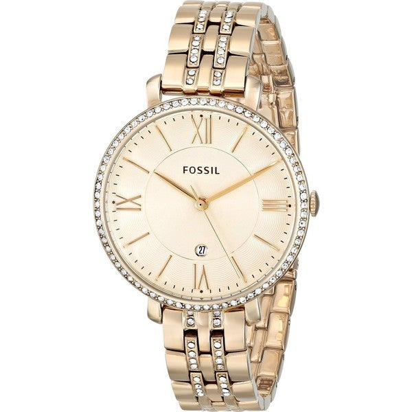 Fossil Women's Jacqueline ES3547 Goldtone Stainless Steel Quartz Watch