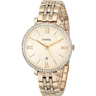 Fossil Women's Jacqueline ES3547 Goldtone Stainless Steel Quartz Watch