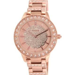Fossil Women's Jesse ES3657 Rose-goldtone Stainless Steel Quartz Watch