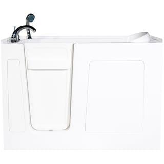 Envy 53-inch Soaker Walk In Bath Tub in White