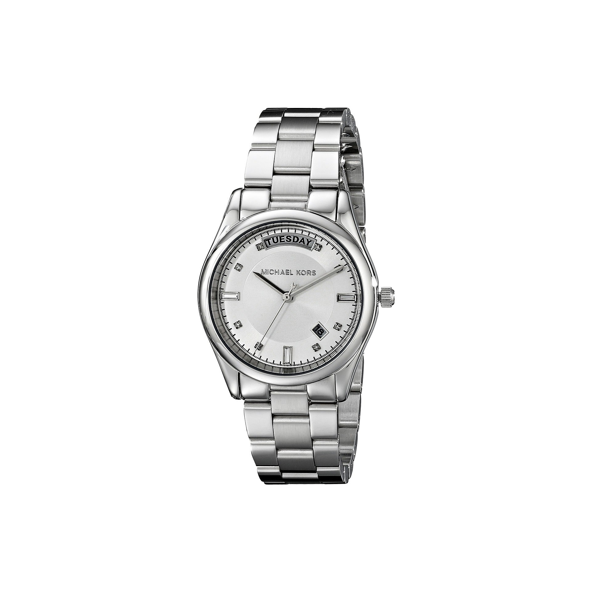 Michael Kors Women's Colette MK6067 Silver Stainless-Stee...