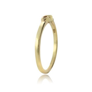 Mondevio Sterling Silver Infinity Polished Ring