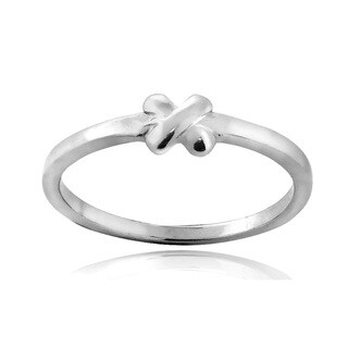 Link to Mondevio Sterling Silver X Polished Ring Similar Items in Rings