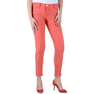 Women's Bleulab Orange Reversible Jean