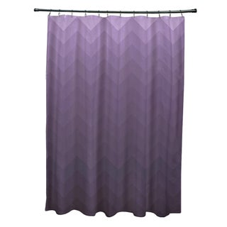 Faded Chevron Pattern Shower Curtain (5 options available)