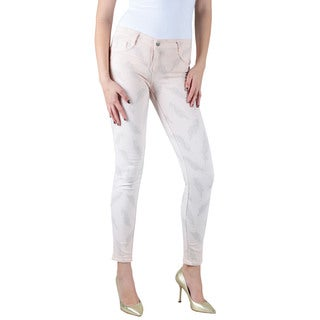 Women's Bleulab Blush Pink Reversible Jean