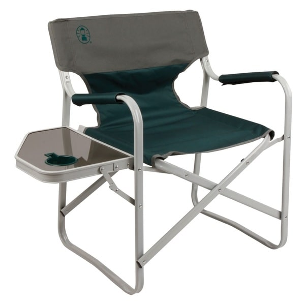 Coleman Folding Chair With Side Table Kamp-Rite Director's Chair with Side Table