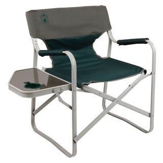 Coleman Outpost Elite Deck Chair with Side Table