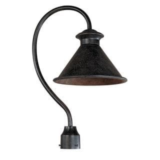 Dark Sky Essen Collection 12-inch 1-light Outdoor Post Light in Bronze