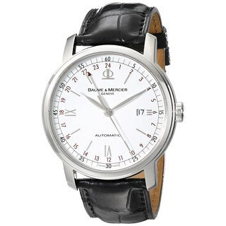 Baume & Mercier Classima Men's Time Zone Watch|https://ak1.ostkcdn.com/images/products/9830690/P16995040.jpg?_ostk_perf_=percv&impolicy=medium