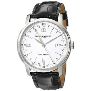 Baume & Mercier Classima Men's Time Zone Watch|https://ak1.ostkcdn.com/images/products/9830690/P16995040.jpg?impolicy=medium