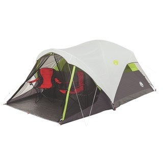 Coleman Steel Creek 6-person Fast Pitch Dome Tent with Screenroom  sc 1 st  Overstock.com & 6-person Tents u0026 Outdoor Canopies For Less | Overstock.com