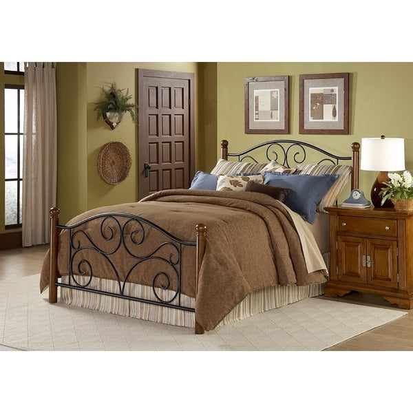 doral metal wood queen size headboard