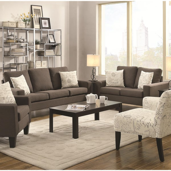 Shop Soho 2 Piece Sofa And Loveseat Collection Free