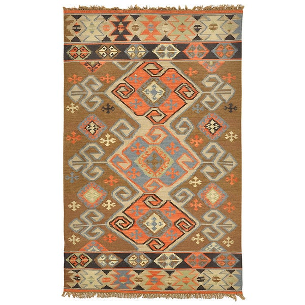 Kosas Home Cosima Indoor Outdoor Poly Kilim Rug 5 X 8 Free Shipping Today 9830891