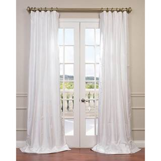 Exclusive Fabrics Dupioni Silk Curtain Drapes