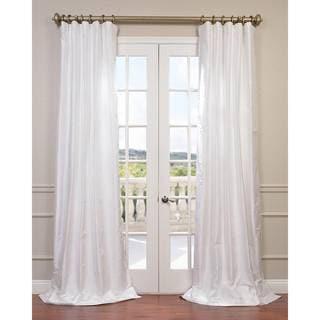 Exclusive Fabrics Dupioni Silk Curtain Drapes