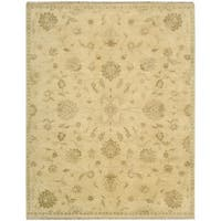Nourison Grand Estate Beige Area Rug (8'6 x 11'6) - 8'6 x 11'6