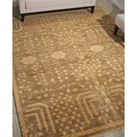Nourison Grand Estate Mushroom Area Rug - 8'6 x 11'6