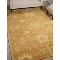 Nourison Grand Estate Tobacco Area Rug (8'6 x 11'6) - 8'6 x 11'6