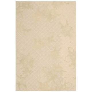 Nourison Escalade Sand Rug (3'9 x 5'9)