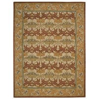 Nourison India House Beige Rug (8' x 10'6)
