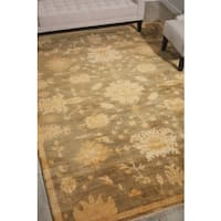 Nourison Grand Estate Sage Area Rug (8'6 x 11'6) - 8'6 x 11'6