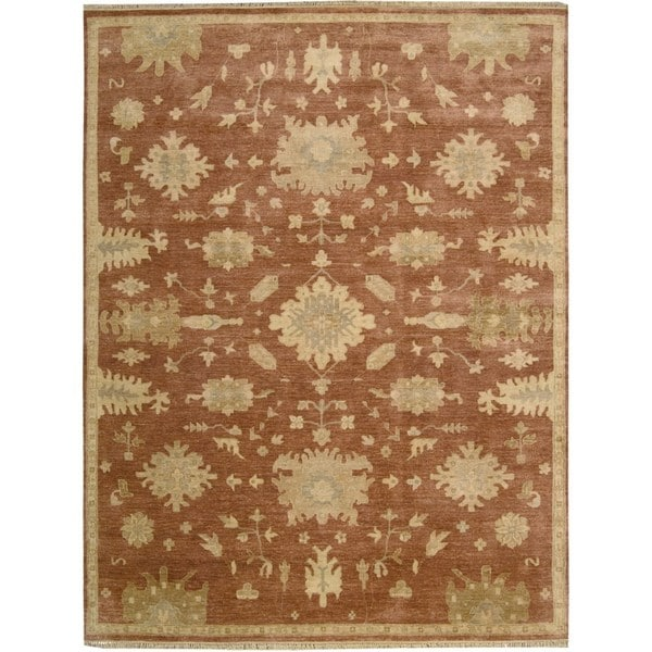 Nourison Grand Estate Persimmon Area Rug (8'6 x 11'6) - 8'6 x 11'6