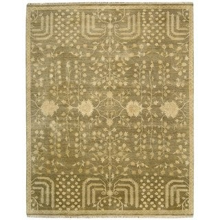 Nourison Grand Estate Mushroom Area Rug (7'9 x 9'9)
