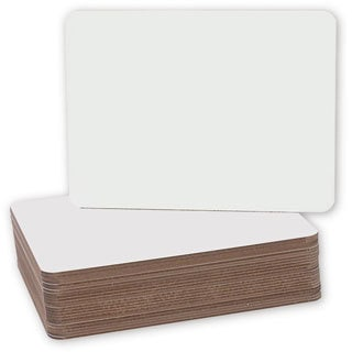 Flipside Plain Dry Erase 9.5 x 12-inch Lapboard (Set of 24)