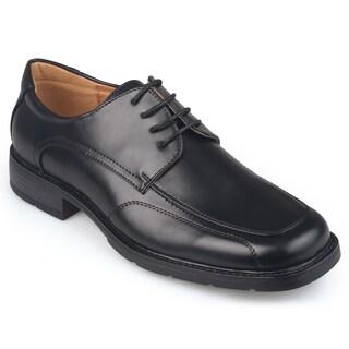 Vance Co. Men's Square Toe Lace-up Dress Shoes