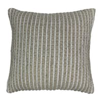 Blazing Needles 20-inch Woven Look Rope Corded Pillow