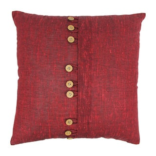 Blazing Needles 20-inch 9-Button Throw Pillow