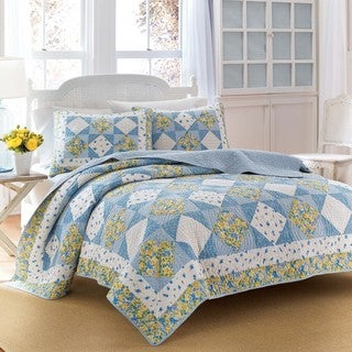Laura Ashley Grace Patchwork Quilt