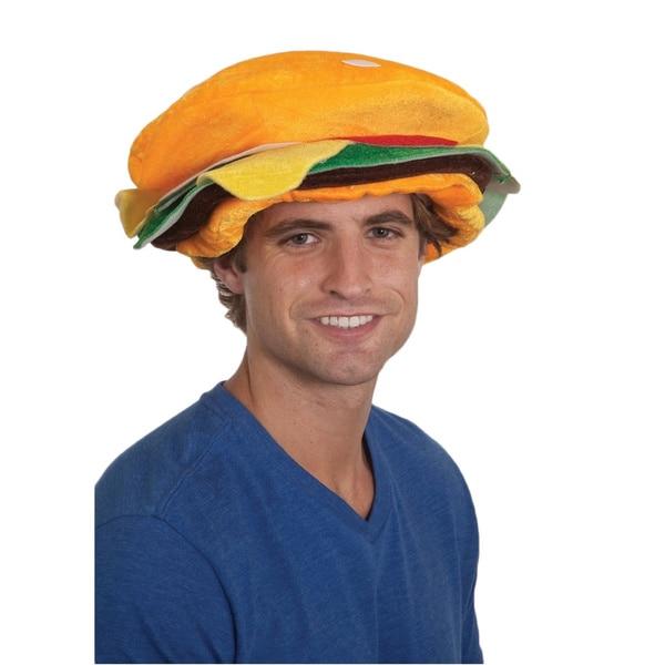 Hamburger Hat Funny Costume Accessory