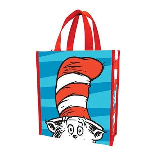 Dr. Seuss Cat In The Hat Small Recycled Shopper Tote Bag