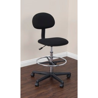 Studio Designs Black Drafting Chair