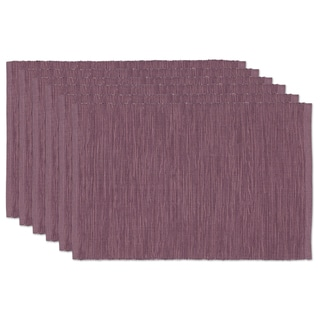 Plum Tonal Placemat (Set of 6)