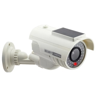 Solar-powered LED Indoor/ Outdoor Dummy Security Camera