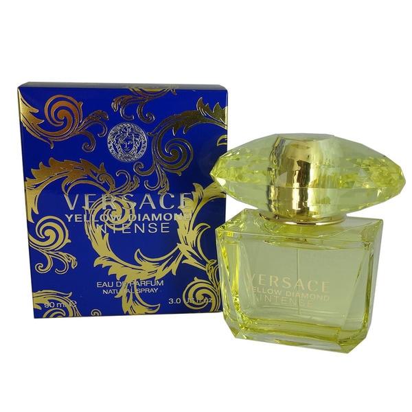 Shop Versace Yellow Diamond Intense Womens 3 Ounce Eau De Parfum