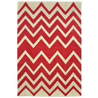Kosas Home Leo Indoor/ Outdoor Poly Kilim (4' x 6')