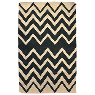 Kosas Home Kosas Leo Indoor/ Outdoor Recycled Plastic Kilim Rug (4' x 6')