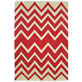 Kosas Collections Leo Indoor/Outdoor Poly Kilim 8 x 10