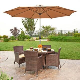 the-Hom Gita 6-piece Outdoor Wicker Dining Set