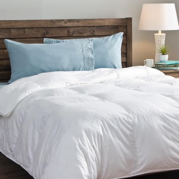 Tommy Bahama 500 Thread Count Tencel Cotton Primaloft Oversized Down Alternative Comforter