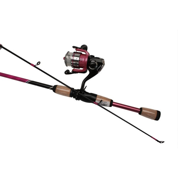 Shakespeare Pink Amphibian Spinning Combo