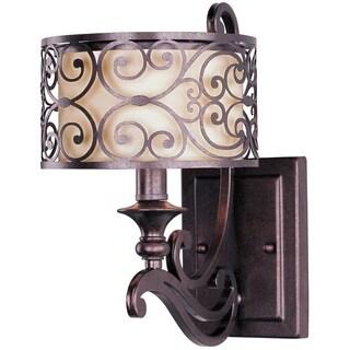 Maxim Lighting Mondrian 1-light Bronze Wall Sconce