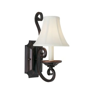 Maxim Lighting Manor 1-light Bronze Wall Sconce